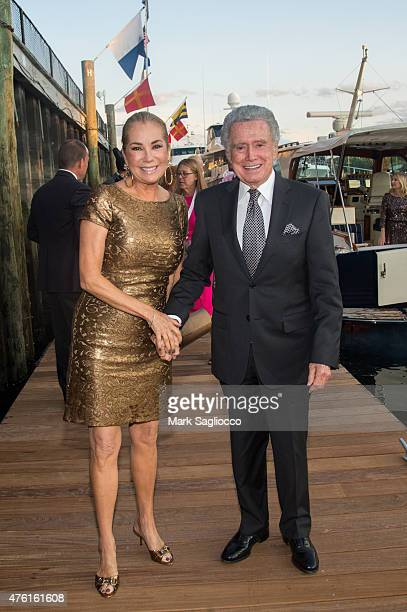 Kathie Lee Gifford and Regis Philbin attend the Greenwich International Film Festival's Changemaker Gala at L'Escale Restaurant on June 6 2015 in...