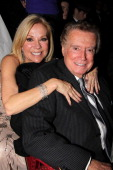Kathie Lee Gifford and Regis Philbin attend the opening night of 'Scandalous' on Broadway at the Neil Simon Theatre on November 15 2012 in New York...