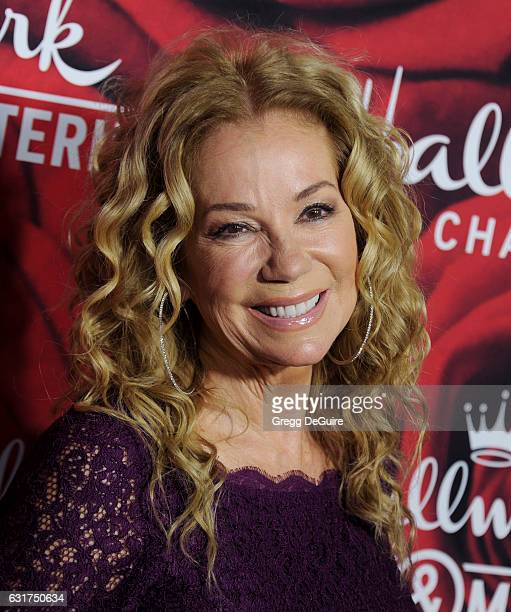 Kathie Lee Gifford arrives at Hallmark Channel And Hallmark Movies And Mysteries Winter 2017 TCA Press Tour at The Tournament House on January 14...