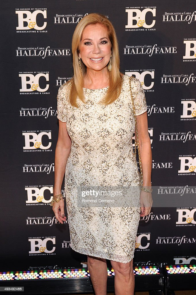 Kathie Lee Gifford attends Broadcasting and Cable Hall Of Fame Awards 25th Anniversary Gala at The Waldorf Astoria on October 20, 2015 in New York City.