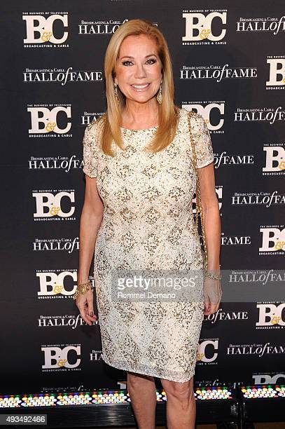 Kathie Lee Gifford attends Broadcasting and Cable Hall Of Fame Awards 25th Anniversary Gala at The Waldorf Astoria on October 20 2015 in New York City