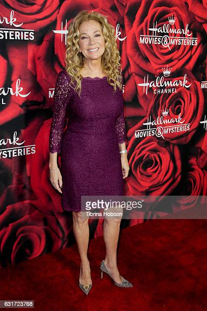 Kathie Lee Gifford attends Hallmark Channel Movies and Mysteries Winter 2017 TCA Press Tour at The Tournament House on January 14 2017 in Pasadena...