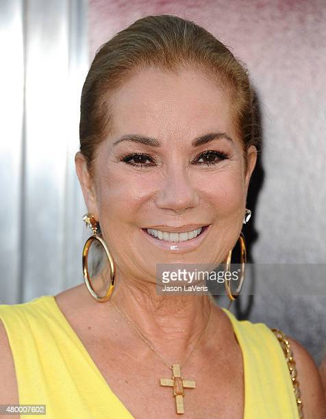 Kathie Lee Gifford attends the premiere of 'The Gallows' at Hollywood High School on July 7 2015 in Los Angeles California
