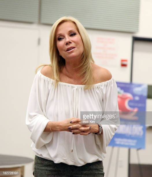 Kathie Lee Gifford attends the 'Scandalous' Cast Rehearsal at The New 42nd Street Studios on September 24 2012 in New York City