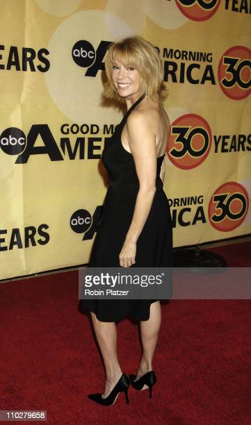 Kathie Lee Gifford during 'Good Morning America' 30th Anniversary Celebration at Avery Fisher Hall in New York City New York United States