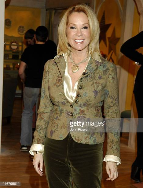 Kathie Lee Gifford during Kathie Lee Gifford Visits the Hallmark Channel's 'Naomi's New Morning' January 23 2007 at Metropolis Studios in New York...