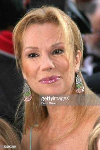 Kathie Lee Gifford during Opening Night for 'Chitty Chitty Bang Bang' on Broadway Arrivals at The Hilton Theater in New York New York United States