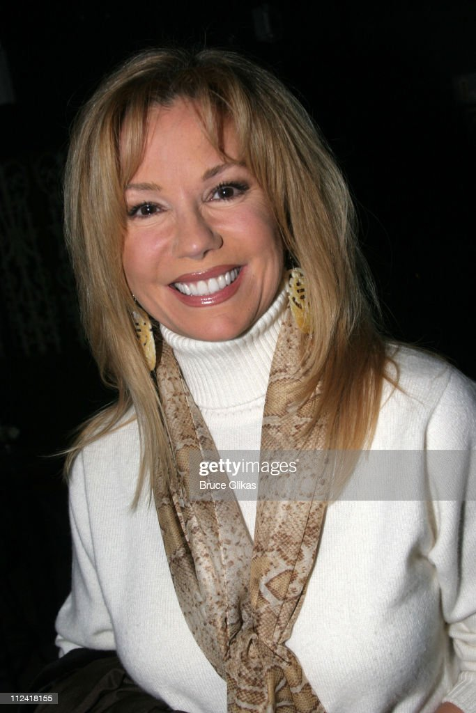 Kathie Lee Gifford during Regis and Kathie Lee Reunion at 'Under the Bridge' at The Zipper Theater in New York City, New York, United States.
