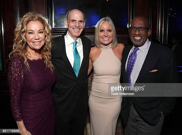 Kathie Lee Gifford Hallmark President and CEO William Abbott Hallmark EVP of Programming and Network Publicity Michelle Vicary and Al Roker attend...