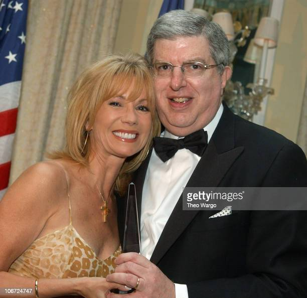 Kathie Lee Gifford Presents Humanitarian Award from The American Cancer Society to Marvin Hamlisch