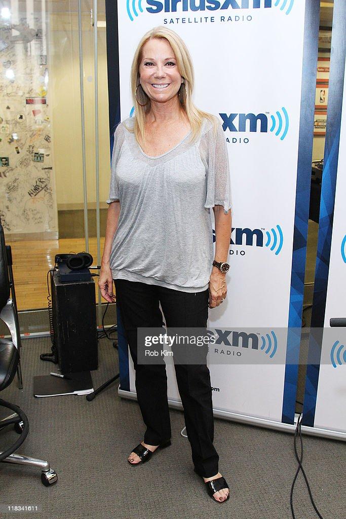 Kathie Lee Gifford visits SiriusXM Studio on July 6, 2011 in New York City.