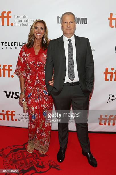 Kathleen Daniels and Jeff Daniels attend the premiere for 'The Martian' at Roy Thomson Hall during the 2015 Toronto International Film Festival on...