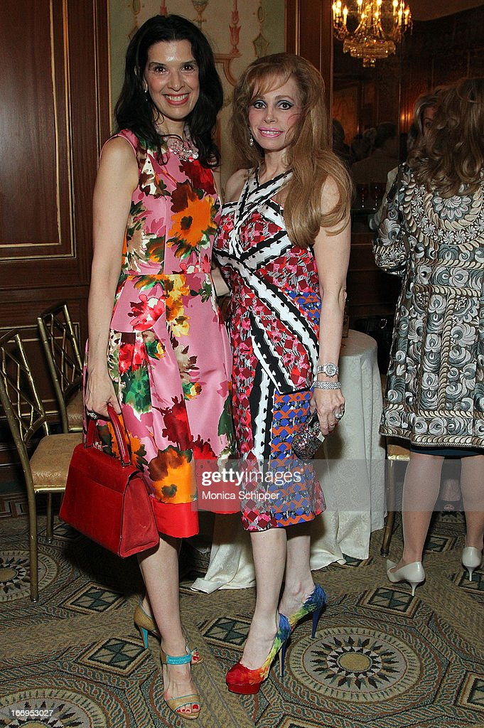 Kathleen Giordano and Joy Marks attend The New York Society For The Prevention Of Cruelty To Children's 2013 Spring Luncheon at The Pierre Hotel on April 18, 2013 in New York City.