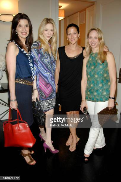 Kathleen Giordano Melissa Berkelhammer Kathy Angele and Lara Glazier attend LENOX HILL NEIGHBORHOOD HOUSE celebrates RICHARD MISHAAN'S Model...