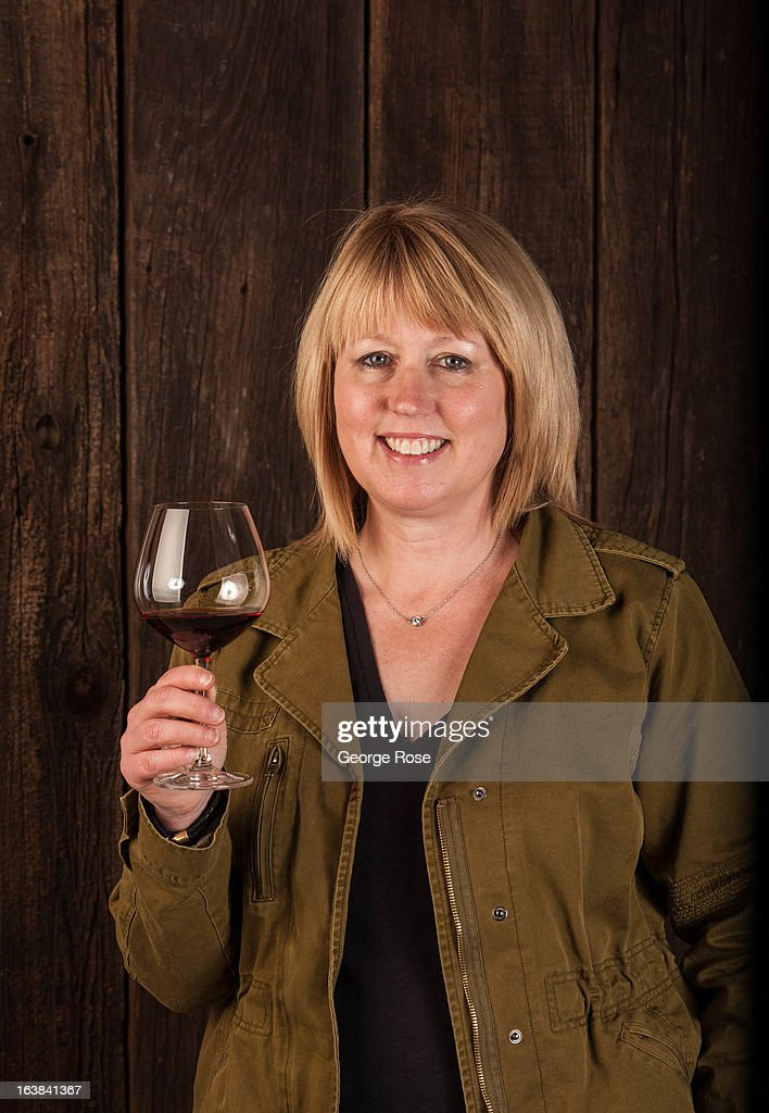 Kathleen Inman, winemaker and owner of Inman Family Wines, poses in her Piner Road tasting room and winery on March 15, 2013, near Santa Rosa, California. Sonoma County, along with Napa Valley, has grown to become one of California's most prestigious wine grape growing regions and known for its cool climate pinot noir and chardonnay.