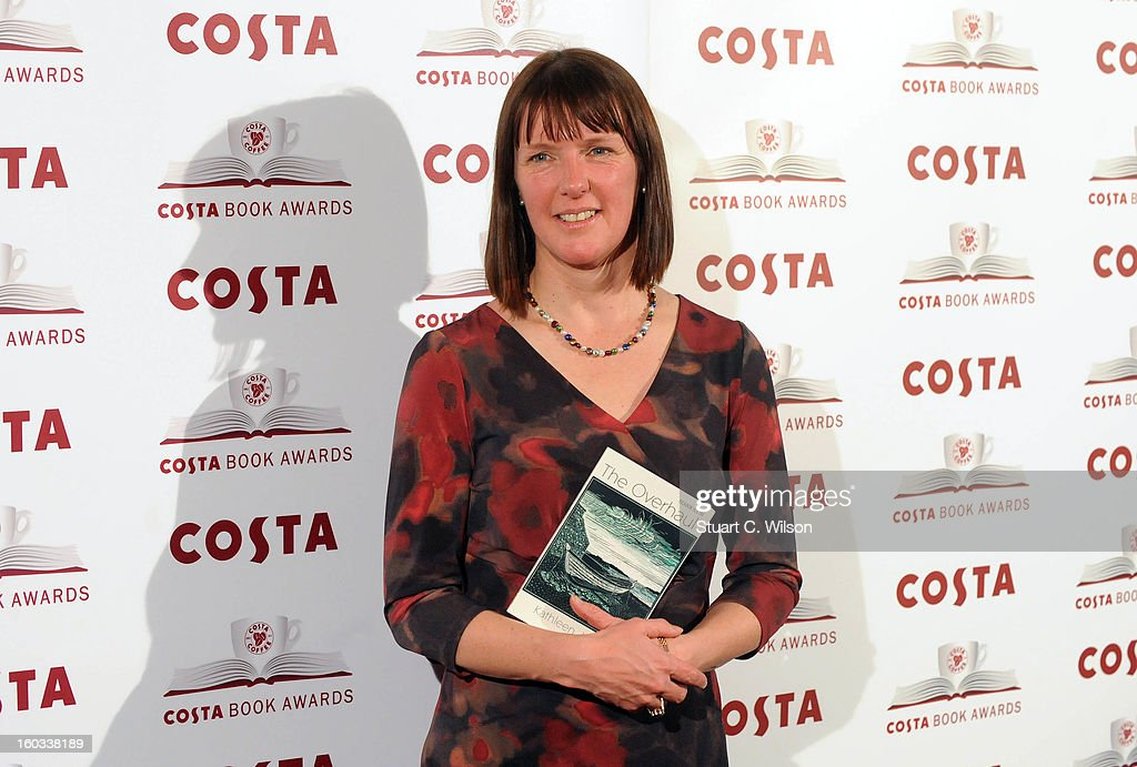 Kathleen Jamie attends the Costa Book of the Year awards at Quaglino's on January 29, 2013 in London, England.