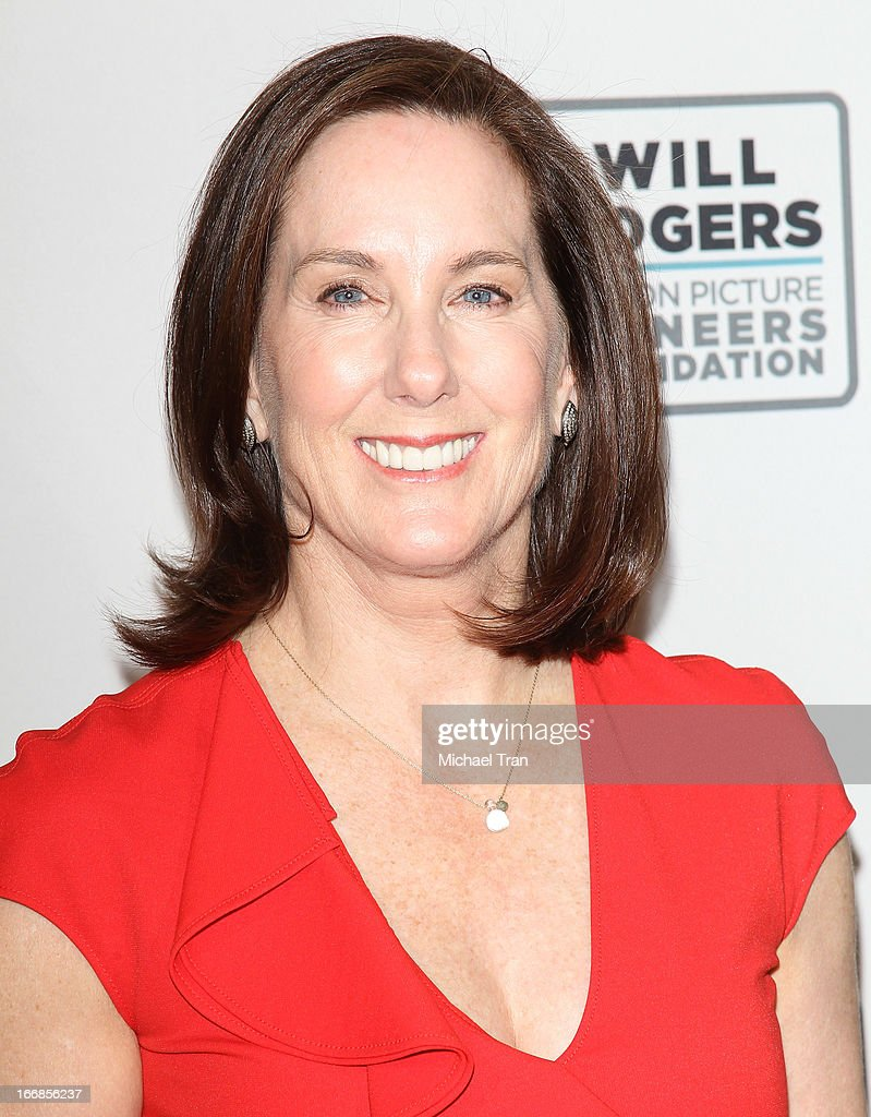 Kathleen Kennedy arrives at CinemaCon 2013 'Pioneer of the Year' Awards honoring her held at Caesars Palace on April 17, 2013 in Las Vegas, Nevada.