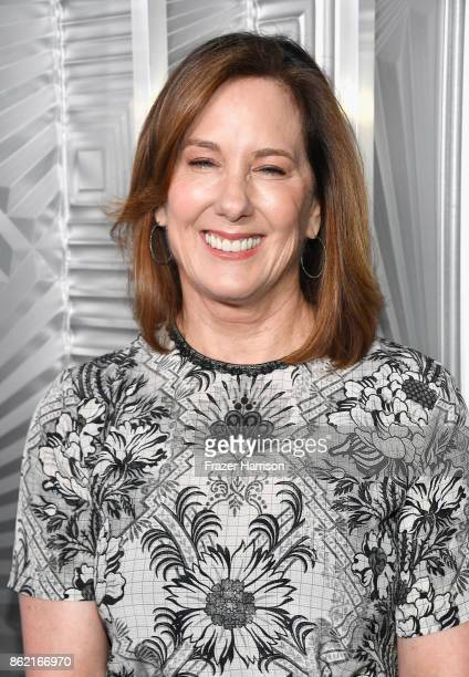 Kathleen Kennedy attends ELLE's 24th Annual Women in Hollywood Celebration presented by L'Oreal Paris Real Is Rare Real Is A Diamond and CALVIN KLEIN...