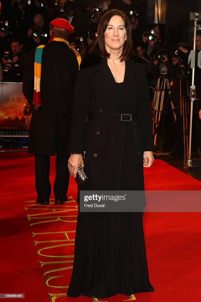 Kathleen Kennedy attends the UK premiere of War Horse at Odeon Leicester Square on January 8, 2012 in London, England.