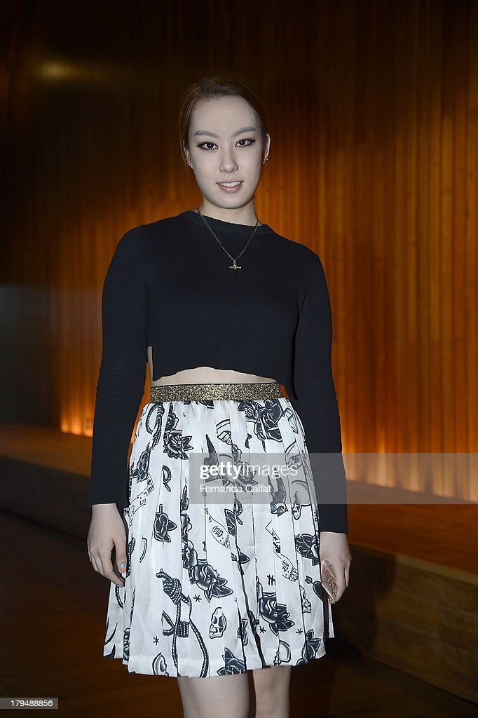 Kathleen Kye attends the Kye presentation during Mercedes-Benz Fashion Week Spring 2014 at The Standard Hotel - High Line Room on September 4, 2013 in New York City.