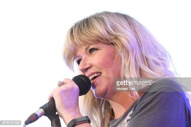Kathleen Marie Hanley aka Kay Hanley of Letters to Cleo performs onstage during the Citi presents The Grove Summer Concert Series held at The Grove...