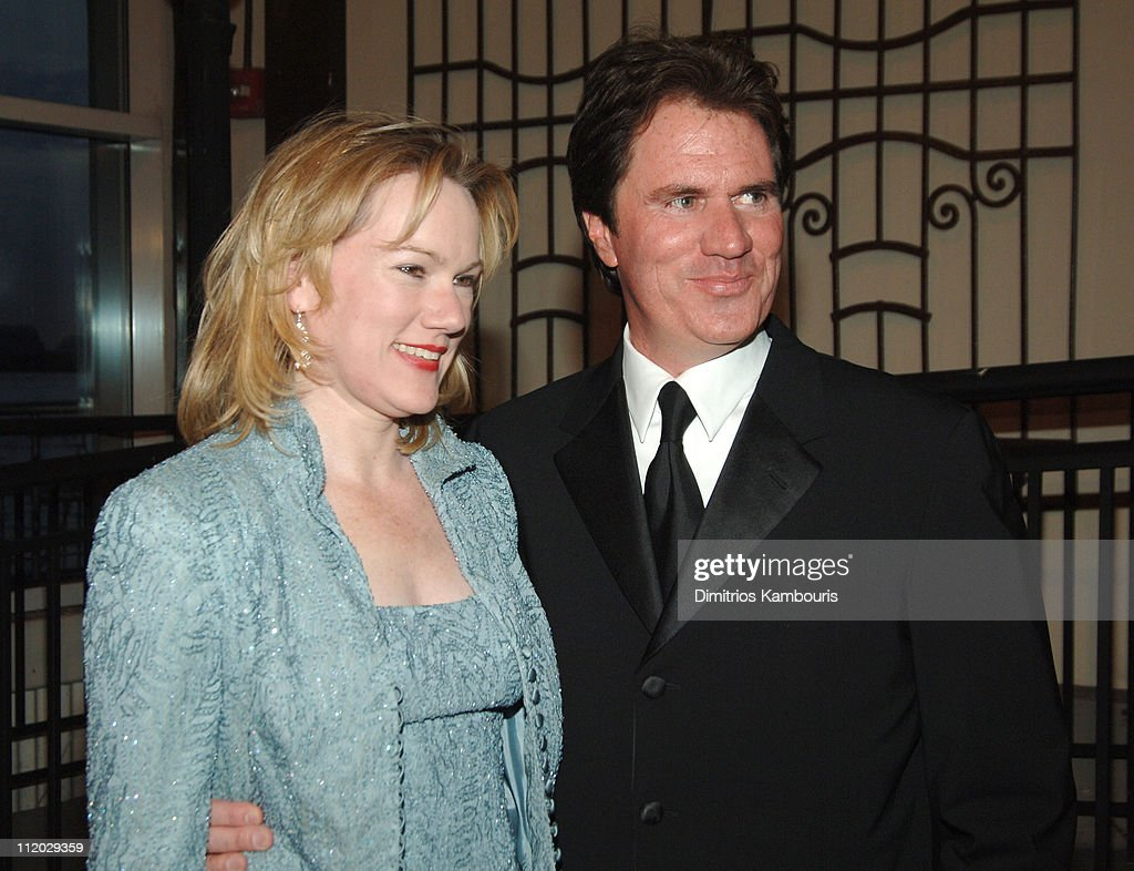 Kathleen Marshall and Rob Marshall during 2005 'Mr Abbott' Awards Arrivals at Lighthouse at Chelsea Piers in New York City New York United States