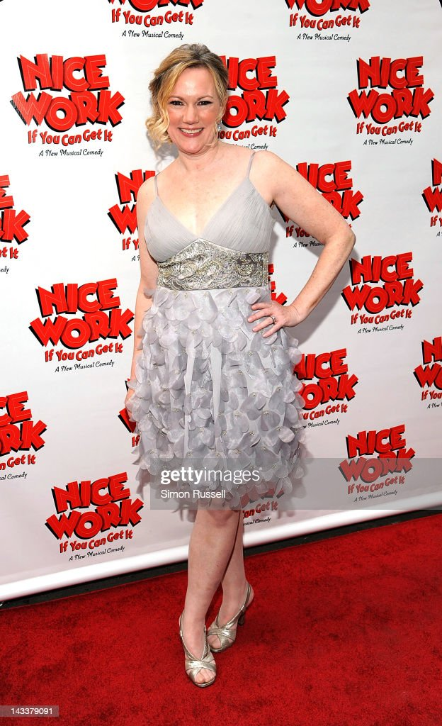 Kathleen Marshall attends the 'Nice Work If You Can Get It' Broadway opening night at the Imperial Theatre on April 24, 2012 in New York City.