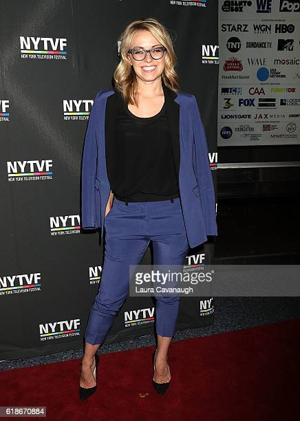 Kathleen McCaffrey attends 12th Annual New York Television Festival Creative Keynote A Conversation with 'Girls' at SVA Theater on October 27 2016 in...