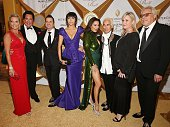 Kathleen McCrone Wayne Newton Lisa Pliner and Donald Pliner and guests attend 20th Annual Intercontinental Miami MakeAWish Ball at Hotel...