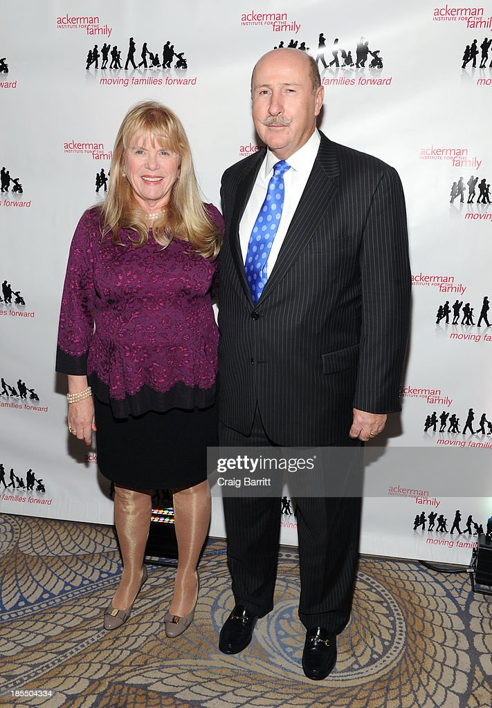 Kathleen O'Neill and John O'Neill attend the 2013 Families Moving Forward gala at The Waldorf Astoria on October 21, 2013 in New York City.