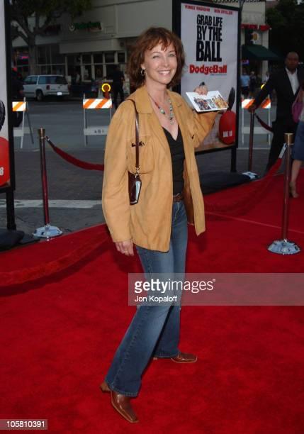 Kathleen Quinlan during 'DodgeBall A True Underdog Story' World Premiere Arrivals at Mann Village Theatre in Westwood California United States