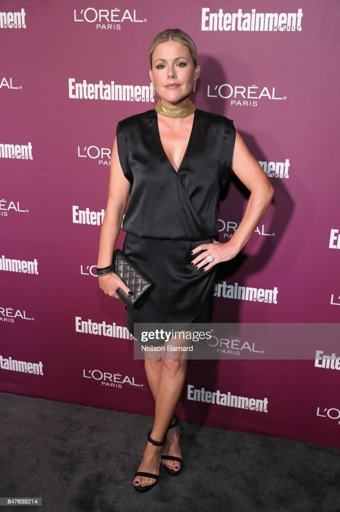 Kathleen Robertson attends the 2017 Entertainment Weekly Pre-Emmy Party at Sunset Tower on September 15, 2017 in West Hollywood, California.