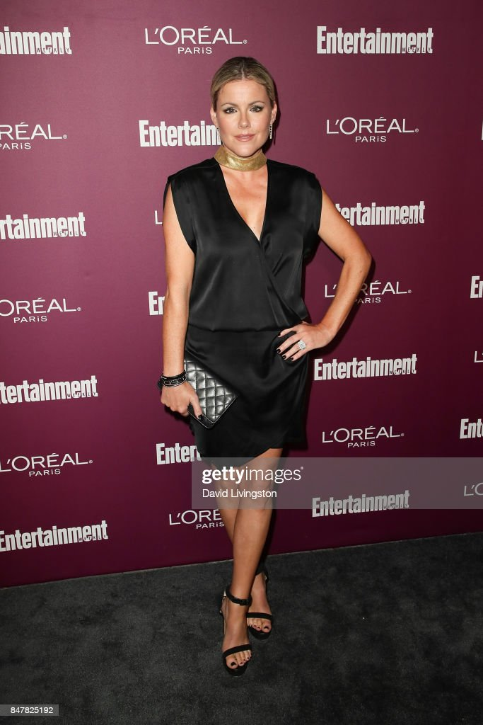 Kathleen Robertson attends the Entertainment Weekly's 2017 Pre-Emmy Party at the Sunset Tower Hotel on September 15, 2017 in West Hollywood, California.