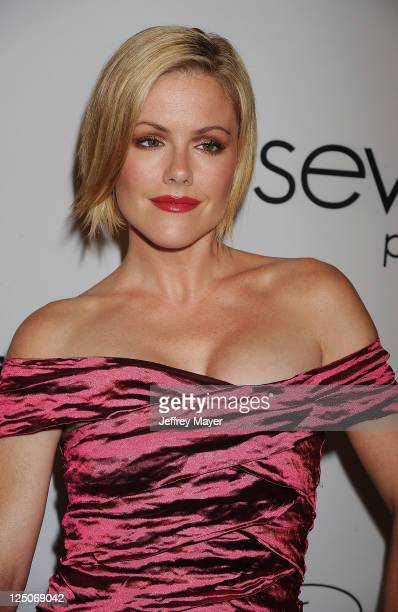 Kathleen Robertson attends the Pink Party '11 Hosted By Jennifer Garner To Benefit CedarsSinai Women's Cancer Program at Drai's Hollywood on...