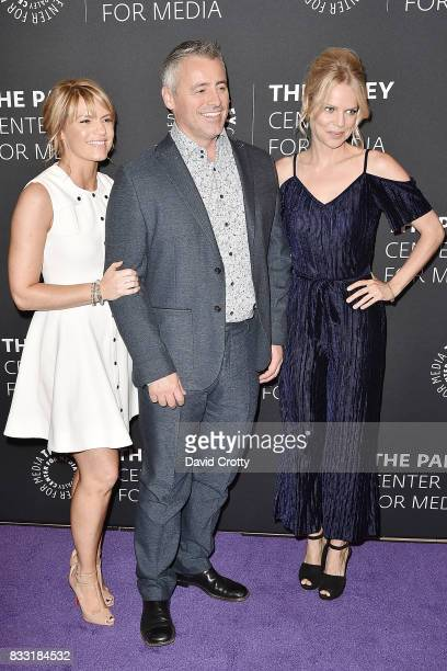 Kathleen Rose Perkins Matt LeBlanc and Mircea Monroe attend the 2017 PaleyLive LA Summer Season Premiere Screening And Conversation For Showtime's...