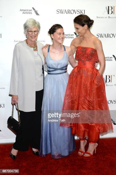 Kathleen StothersHolmes Kathleen Hurley and Katie Holmes attend the American Ballet Theatre Spring 2017 Gala at The Metropolitan Opera House on May...