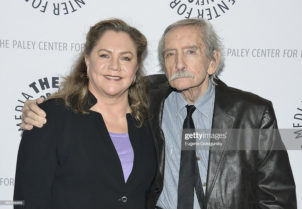 <a gi-track='captionPersonalityLinkClicked' href=/galleries/search?phrase=Kathleen+Turner&family=editorial&specificpeople=202649 ng-click='$event.stopPropagation()'>Kathleen Turner</a> and <a gi-track='captionPersonalityLinkClicked' href=/galleries/search?phrase=Edward+Albee+-+Playwright&family=editorial&specificpeople=220644 ng-click='$event.stopPropagation()'>Edward Albee</a> attend 'The Stages Of <a gi-track='captionPersonalityLinkClicked' href=/galleries/search?phrase=Edward+Albee+-+Playwright&family=editorial&specificpeople=220644 ng-click='$event.stopPropagation()'>Edward Albee</a>' at Paley Center For Media on March 27, 2013 in New York City.