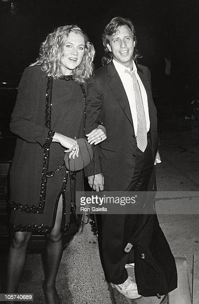 Kathleen Turner and Jay Weiss during Party at Halston's Olympic Towers Townhouse September 8 1988 at Halston's Olympic Towers Townhouse in New York...