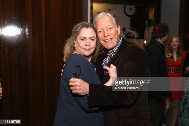 Kathleen Turner and Richard Chamberlain attend The Perfect Family's premiere afterparty at the Tribeca Film Festival presented by American Express at...