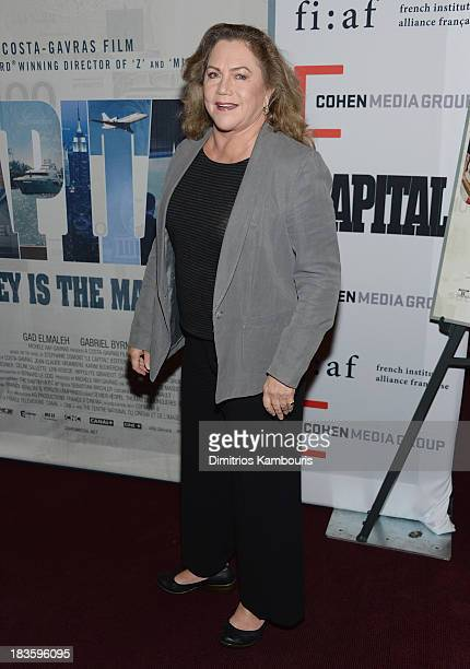 Kathleen Turner attends 'Capital' New York Special Screening at FIAF on October 7 2013 in New York City