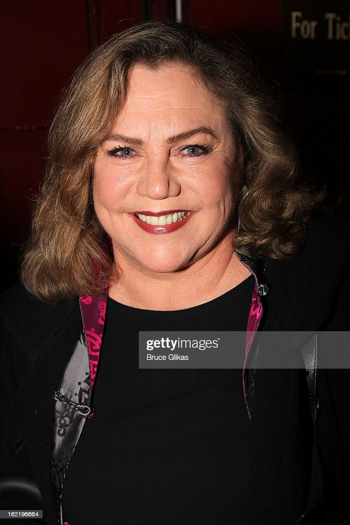 <a gi-track='captionPersonalityLinkClicked' href=/galleries/search?phrase=Kathleen+Turner&family=editorial&specificpeople=202649 ng-click='$event.stopPropagation()'>Kathleen Turner</a> attends 'Really, Really' on Opening Night at the Lucille Lortel Theatre on February 19, 2013 in New York, United States.