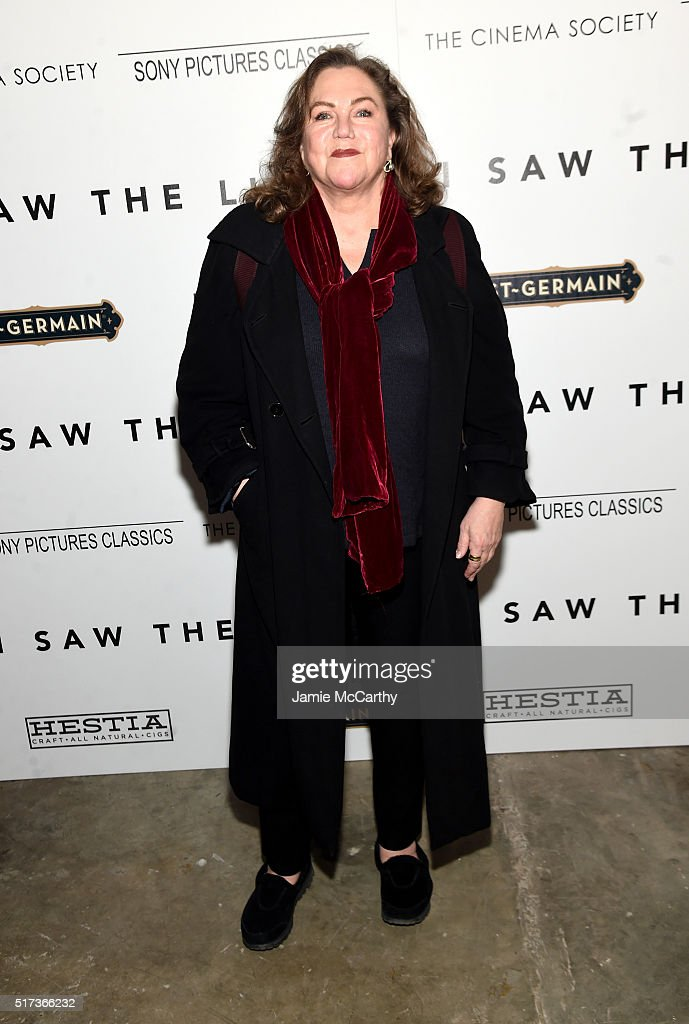 Kathleen Turner` attends The Cinema Society With Hestia StGermain host a screening of Sony Pictures Classics' 'I Saw the Light' at Metrograph on...