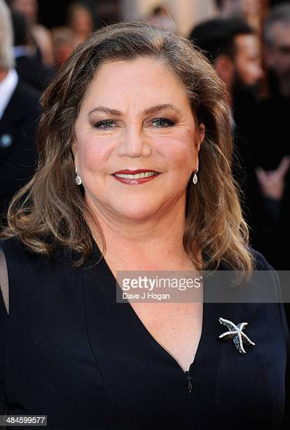 Kathleen Turner attends the Laurence Olivier Awards at the Royal Opera House on April 13 2014 in London England