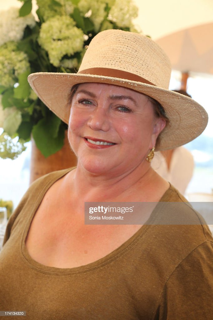 <a gi-track='captionPersonalityLinkClicked' href=/galleries/search?phrase=Kathleen+Turner&family=editorial&specificpeople=202649 ng-click='$event.stopPropagation()'>Kathleen Turner</a> attends the opening day of the Bridgehampton Polo Club's 17th Season at the Bridgehampton Polo Club on July 20, 2013 in Bridgehampton, New York.