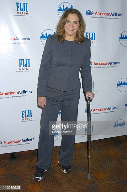 Kathleen Turner during The 18th Annual CitymealsonWheels 'Power Lunch For Women' Arrivals at The Rainbow Room in New York City New York United States