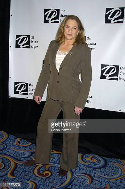 Kathleen Turner during The 71st Annual Drama League Awards Arrivals at Marriott Marquis Hotel in New York City New York United States