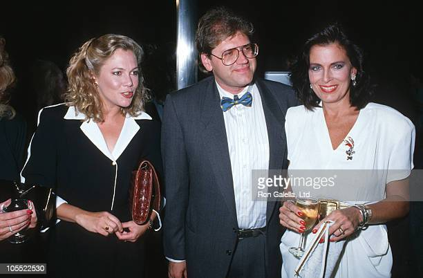 Kathleen Turner Roger Zemeckis and guest during 'Who Framed Roger Rabbit' New York Premiere at Radio City Music Hall in New York City New York United...