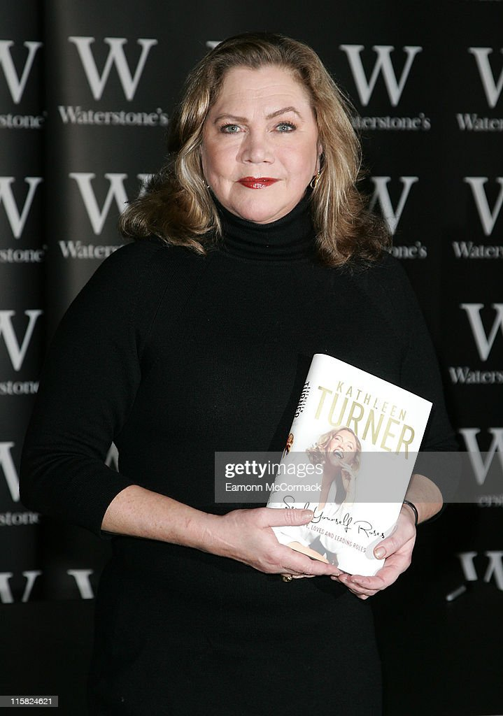 Kathleen Turner Signs Copies of Her Autobiography