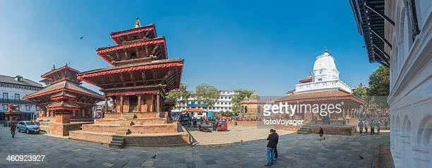 Kathmandu Durbar Square panorama UNESCO World Heritage Site landmark Nepal