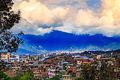 Kathmandu is the capital of Nepal. Picture before the earthquake.